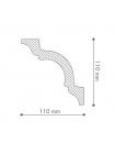 Потолочный плинтус (карниз) NMC Nomastyl® A (LX-150)