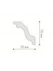 Потолочный плинтус (карниз) NMC Nomastyl® K (LX-72)