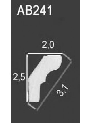 Потолочный плинтус Perfect® AB241