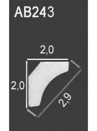 Потолочный плинтус Perfect® AB243
