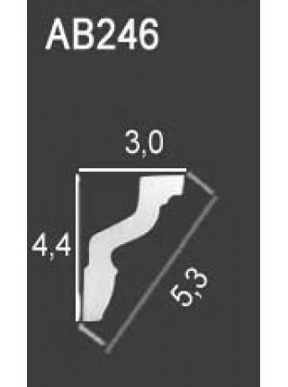 Потолочный плинтус Perfect® AB246